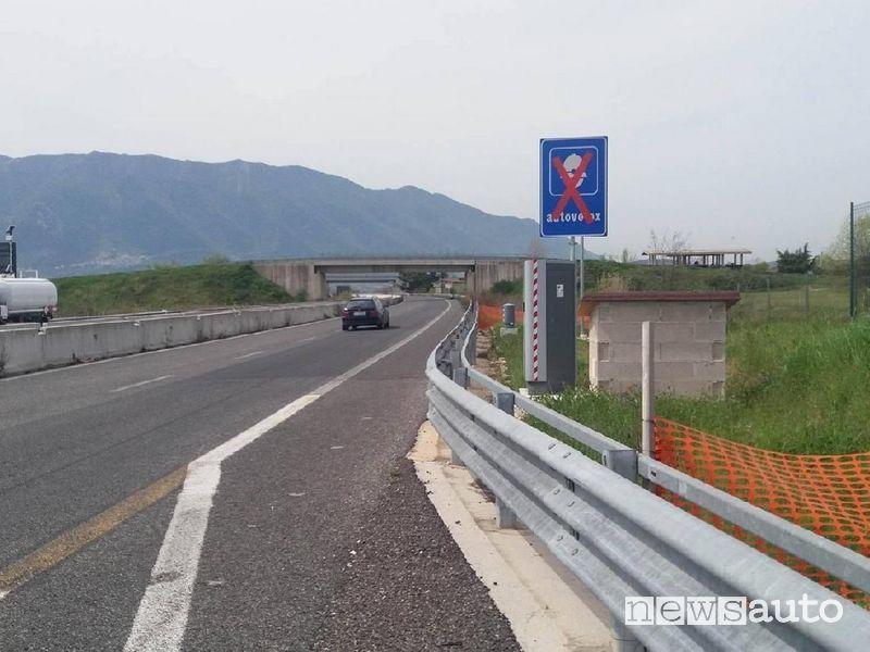 Autovelox spenti sulle strade della provincia di Frosinone