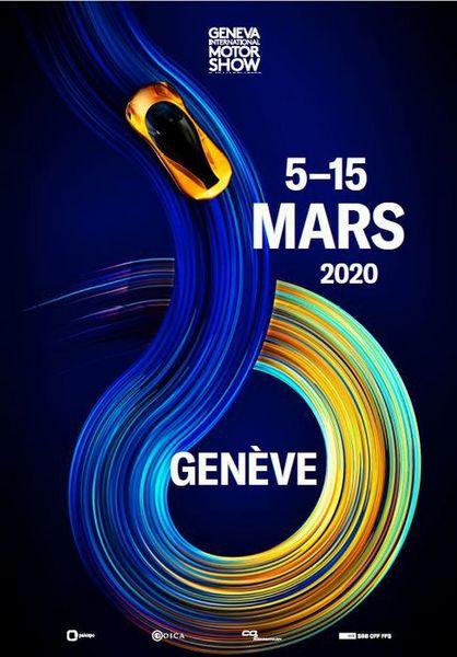 Locandina Salone di Ginevra 2020