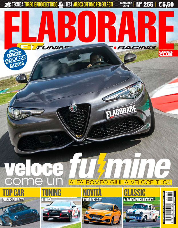 Magazine ELABORARE  performances cars