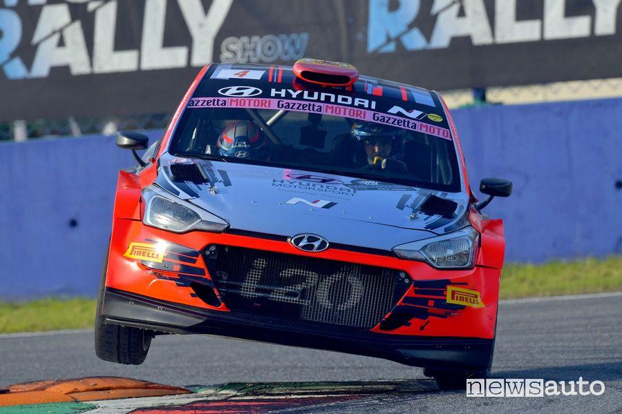 Monza Rally Show 2019 Hyundai i20 N.G. R5 Sordo/Del Barrio