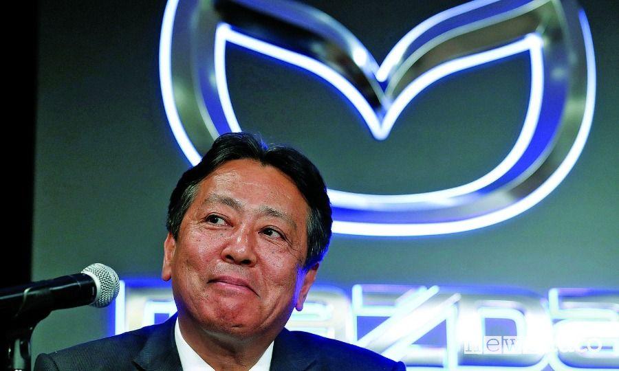 Akira Marumoto, Presidente e CEO Mazda