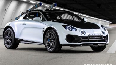 Photo of Alpine A110 SportsX, auto sportiva con assetto rialzato