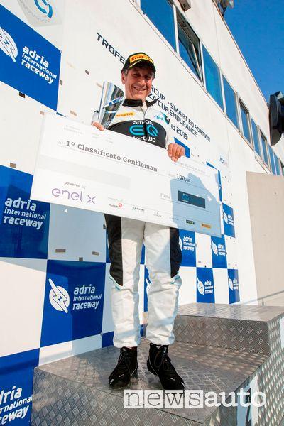 Antonino Cannavò Trofeo Gentleman smart EQ fortwo e-cup 2019