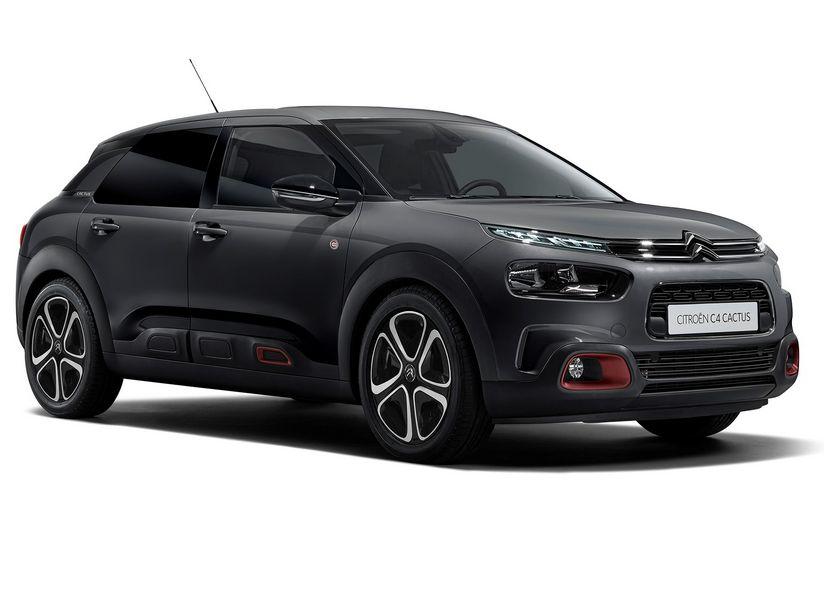 Vista di profilo Citroën C4 Cactus C-Series