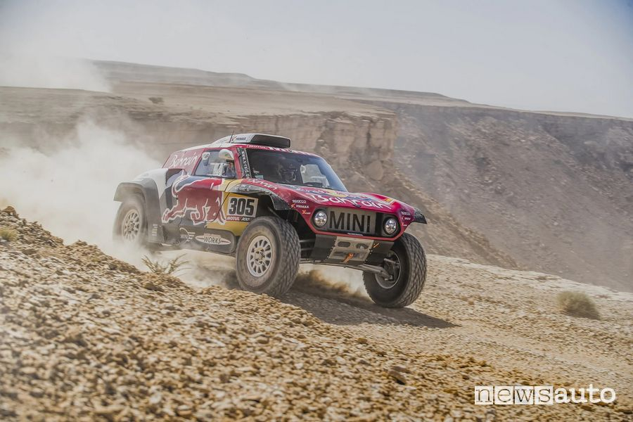 Dakar 2020 buggy Mini a due ruote motrici