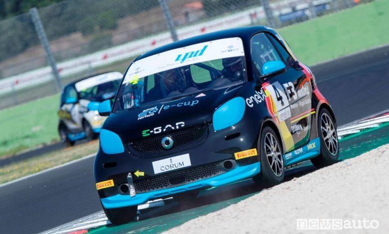 Antonino Cannavò, dai rally alle auto elettriche da corsa