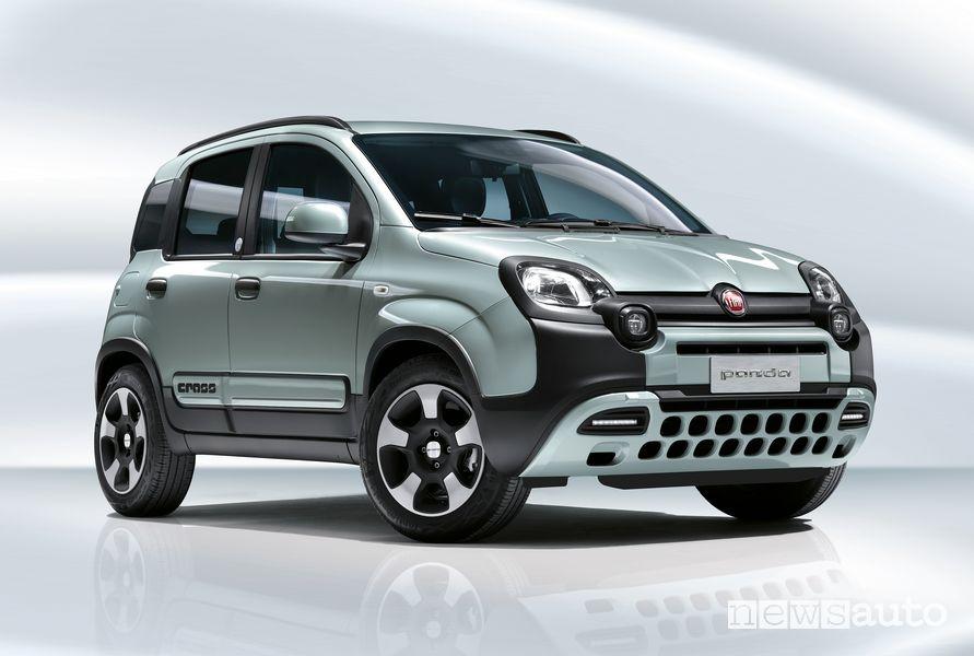 Vista di profilo Fiat Panda Hybrid Launch Edition