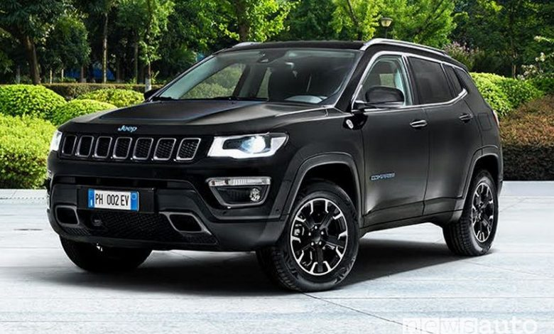 Jeep Compass 4xe, ibrida plug-in PHEV First Edition ...