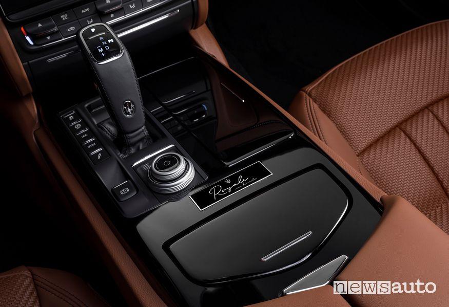 Badge identificativo Maserati Quattroporte Royale
