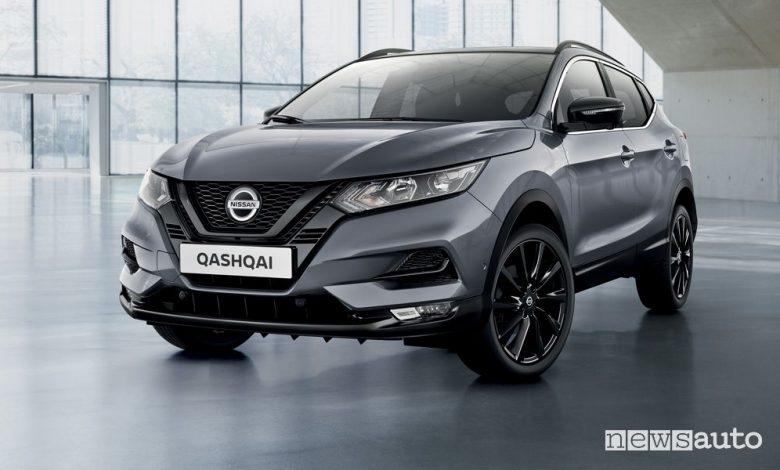 Nissan Qashqai N-Tec, caratteristiche e prezzo versione speciale