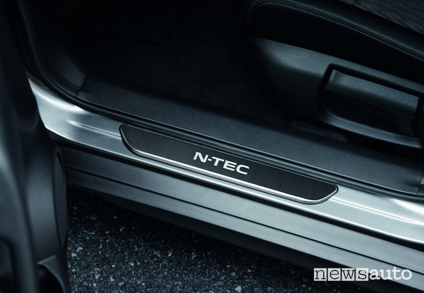 Battitacco illuminato Nissan X-Trail N-Tec