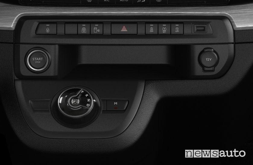 Comando cambio automatico EAT8 Peugeot Expert Combi