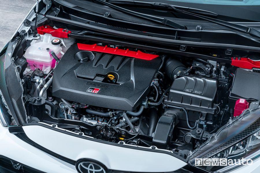Vano motore 1.6 3 cilindri turbo 261 CV Toyota GR Yaris