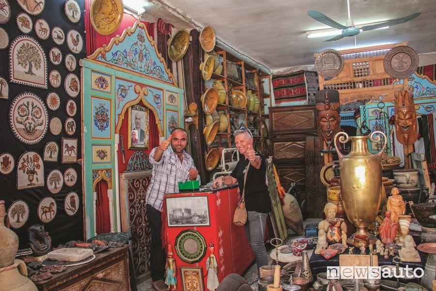 Botteghe degli artigiani in Tunisia