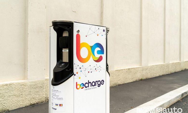 colonnine di ricarica auto elettriche a Torino Be Charge