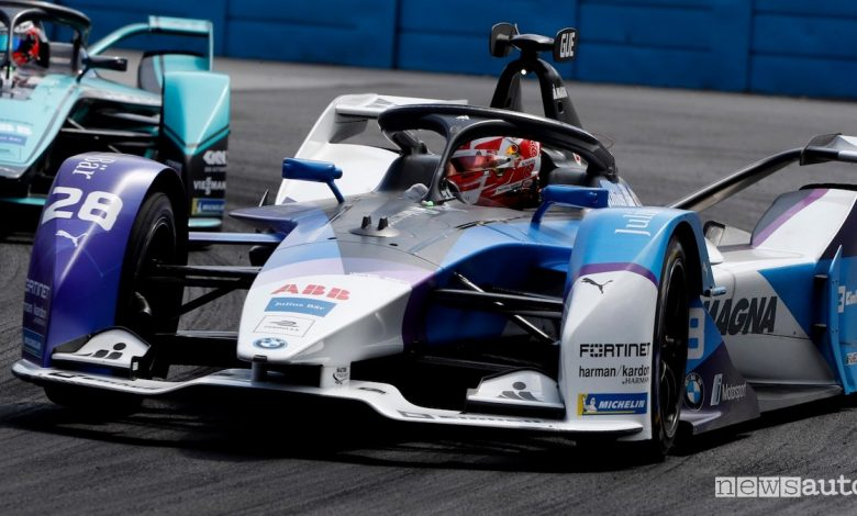 ePrix Santiago Cile BMW Andretti Gunther