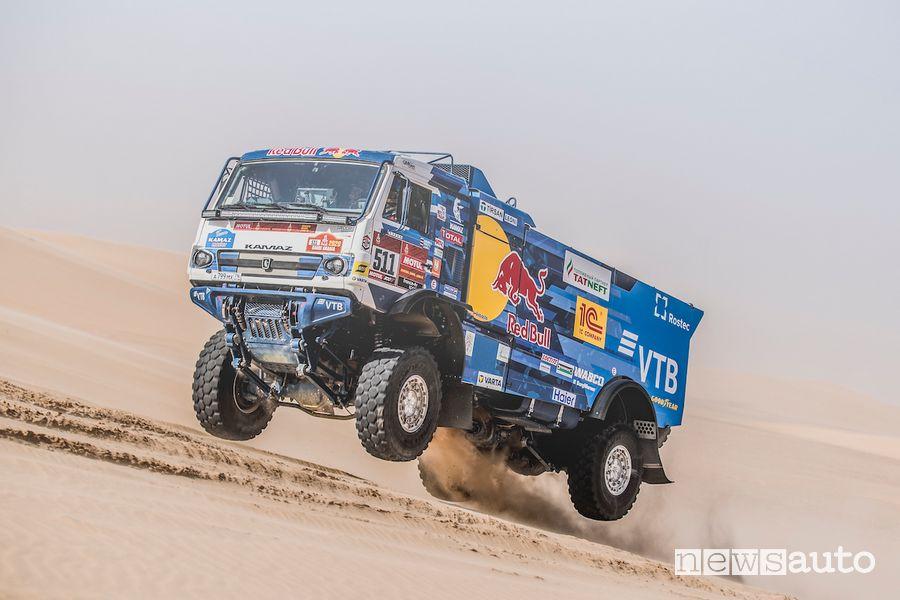 Andrey Karginov con il camion Kamz è il vincitore della Dakar 2020 nella categoria truck