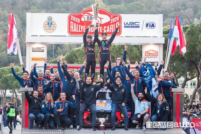 WRC Hyundai Rally di Montecarlo 2020