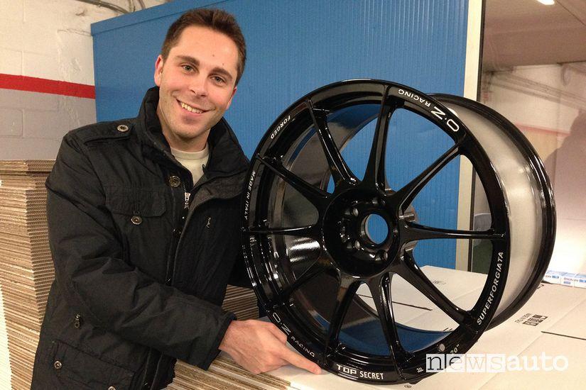 Andrea Bernoni di OZ Racing