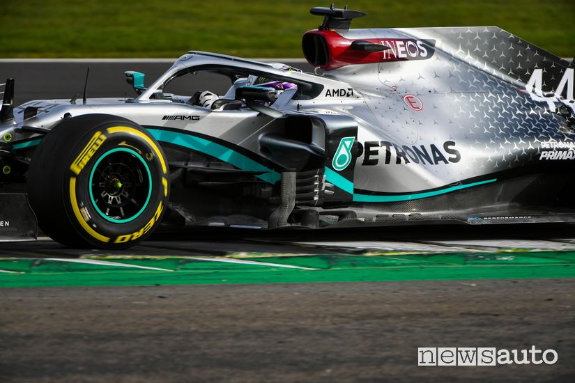 Pance laterali Mercedes-AMG W11 F1 2020