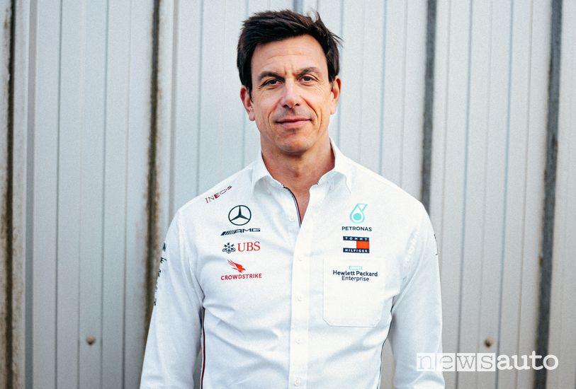 Toto Wolff , Team Principal Mercedes-AMG Petronas F1