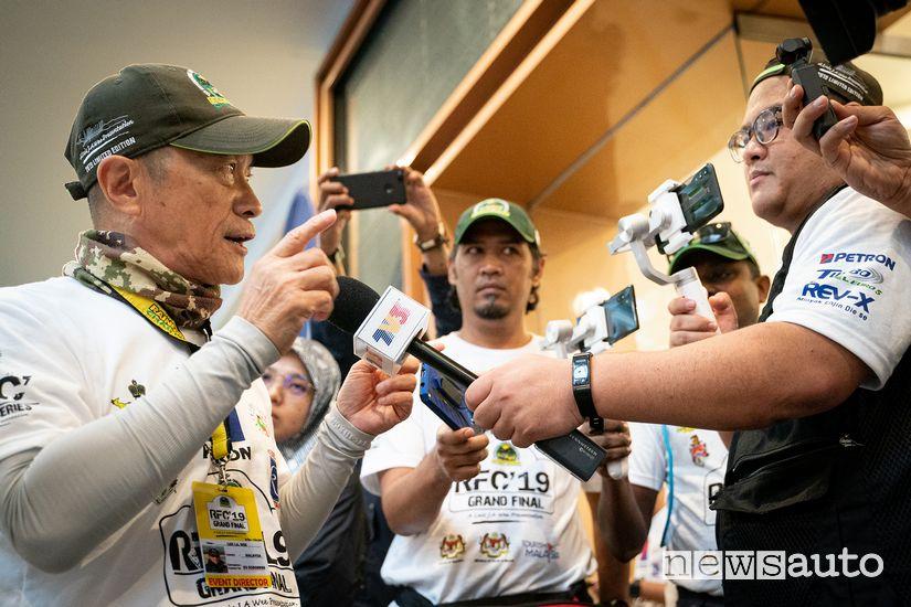Luis J.A Wee, patron del Rainforest Challenge