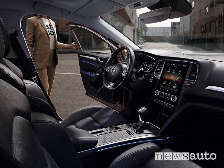 Interni, plancia strumenti Renault Megane 2020