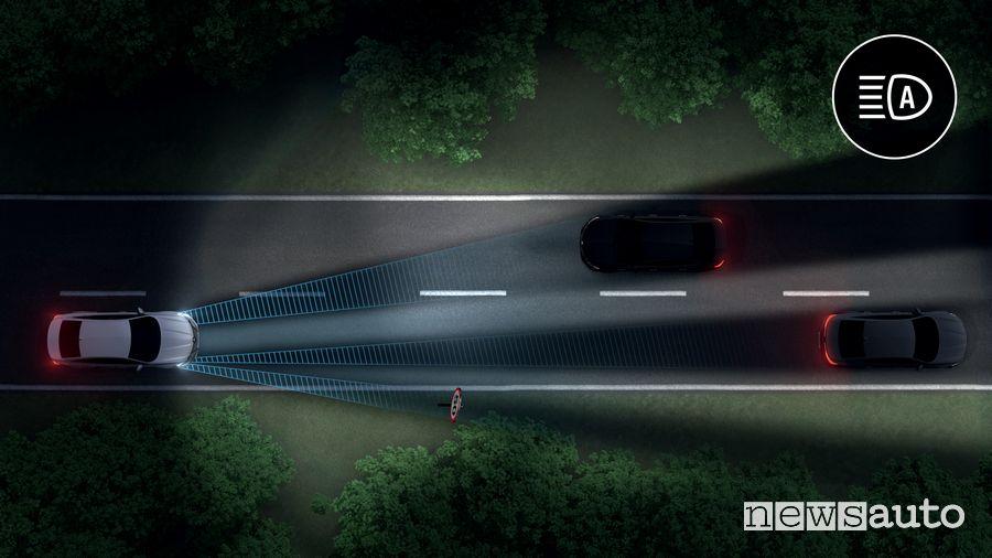 Fari con tecnologia LED Matrix Vision Renault Talisman 2020