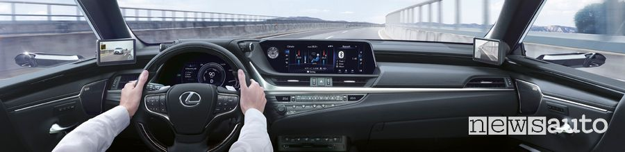 specchietti virtuali telecamera Lexus ES 300h