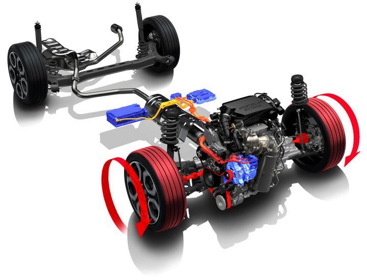 Nel sistema ibrido MHEV Suzuki l'Integrated Starter Generator (ISG) è appunto integrato nel motore