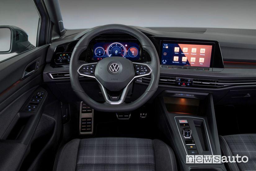 Plancia strumenti abitacolo Volkswagen Golf GTD 2020