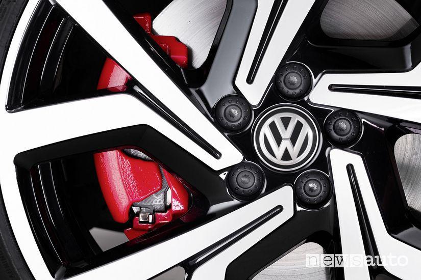 Freni, cerchi in lega Volkswagen Polo GTI