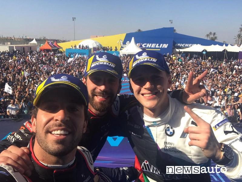 eprix marrakech podio risultato