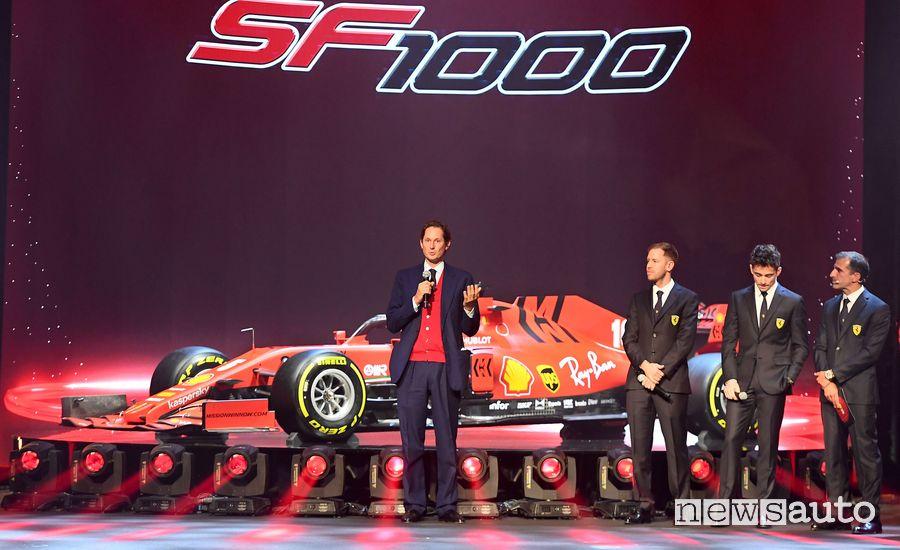 John Elkann, Presidente della Scuderia Ferrari a Reggio Emilia