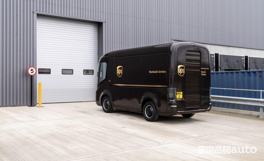 furgoni elettrici UPS