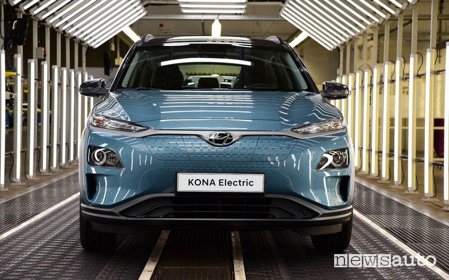 Hyundai Kona Electric produzione in Europa Repubblica Ceca