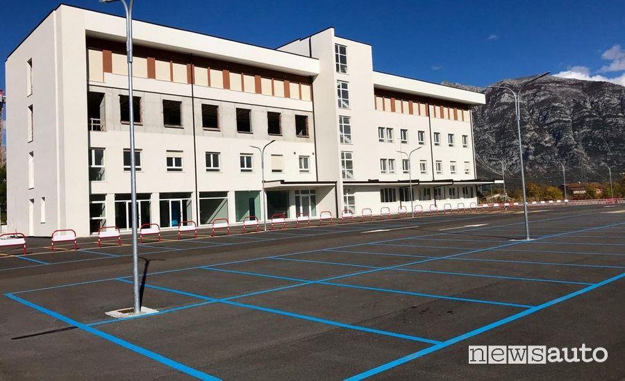 parcheggi gratuiti negli ospedali