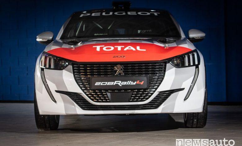 Paraurti anteriore Peugeot 208 Rally 4