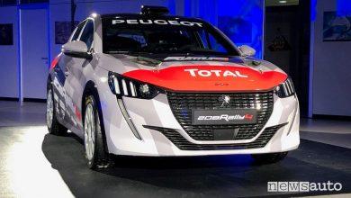 Photo of Peugeot 208 Rally 4, caratteristiche e scheda tecnica