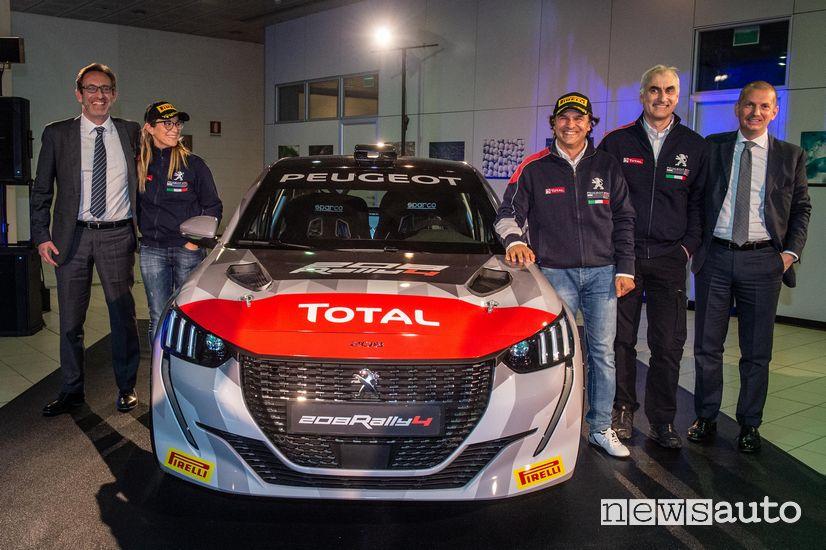 Presentazione ufficiale Peugeot 208 Rally 4