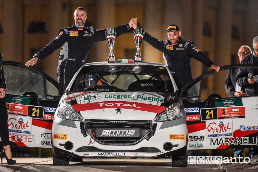 Peugeot Competitio 208 Rally Cup TOP