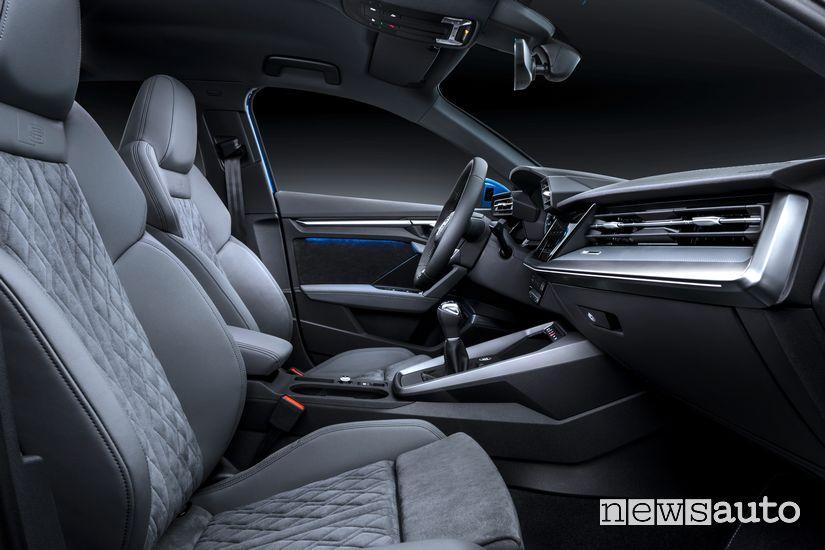 Sedili anteriori interni Audi A3 Sportback 2020