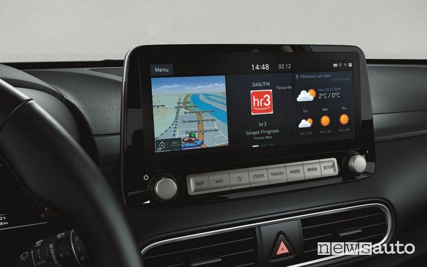 Hyundai BlueLink infotainment Hyundai Kona Electric