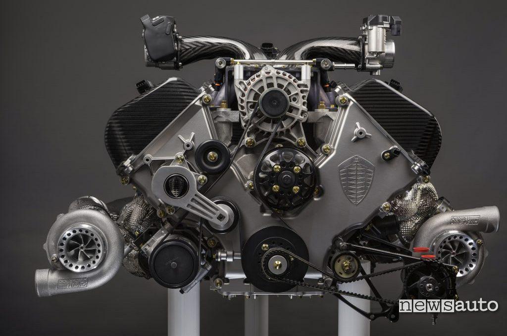 Koenigsegg Jesko motore V8