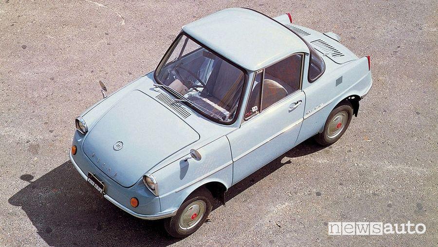 Mazda R360 Coupe 1960 vista dall'alto