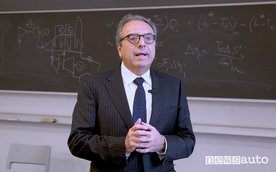 Giovanni Lozza, direttore del dipartimento di energia del Politecnico di Milano