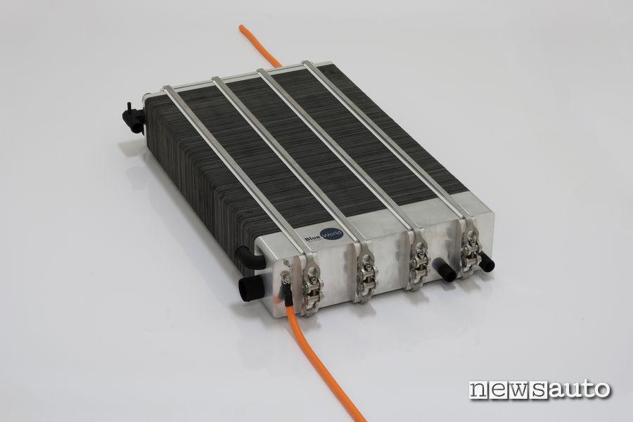 cella a combustibile al metanolo per auto elettrica Gumpert Nathalie