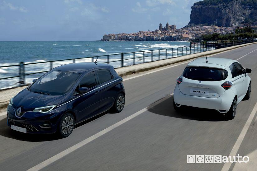 Renault Zoe Riviera serie speciale
