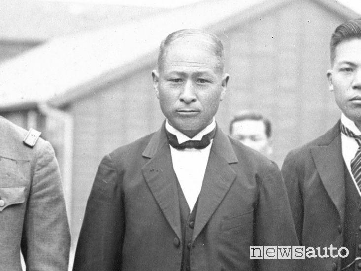 Michio Suzuki il capostipite del marchio e fondatore di Suzuki
