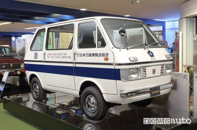 Suzuki Carry Van elettrico del 1970